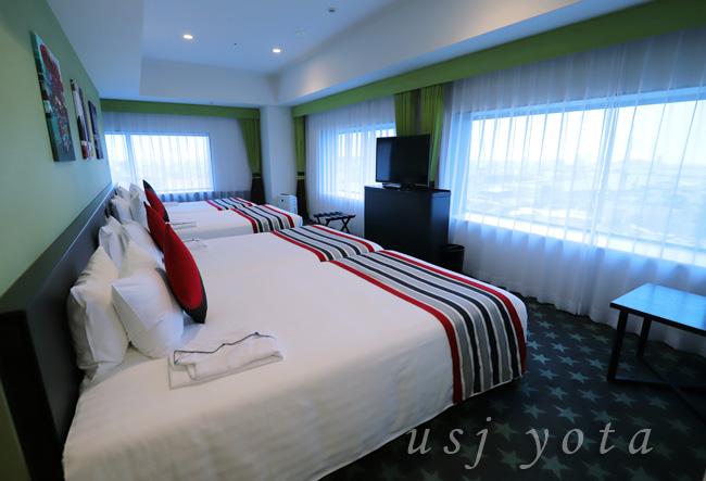 ザ パーク フロント ホテル アット ユニバーサル・スタジオ・ジャパンの客室