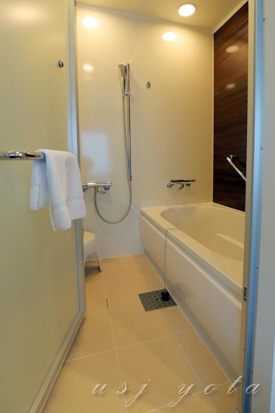 ザ パーク フロント ホテル アット ユニバーサル・スタジオ・ジャパンのお風呂