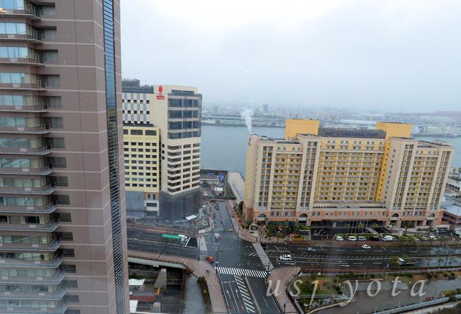 ザ パーク フロント ホテル アット ユニバーサル・スタジオ・ジャパンからの展望
