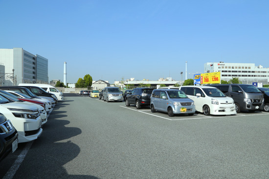 USJ近隣駐車場