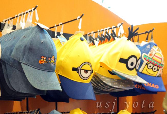 USJで販売されている帽子