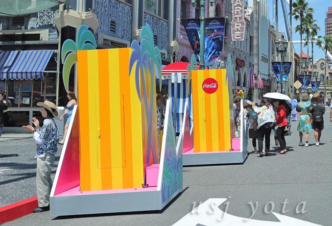ウォーターサプライズパレードの謎の箱