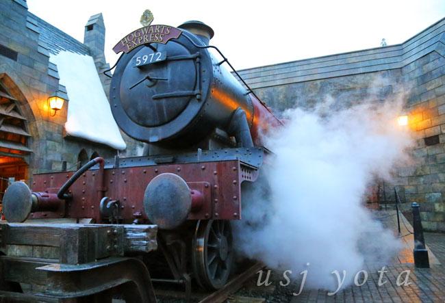 ホグワーツ特急の機関車