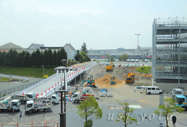 桜島第3駐車場の入り口