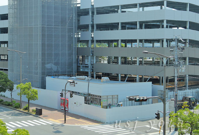 桜島第3駐車場のコンビニ