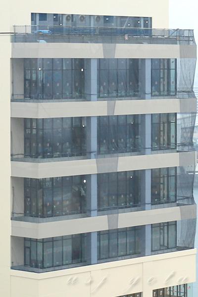 USJ内から見たホテルユニバーサルポートヴィータ