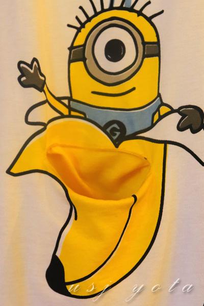ミニオンのTシャツ
