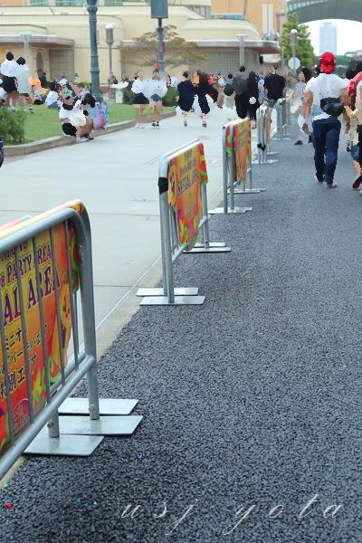 グラマシーパーク側の舗装