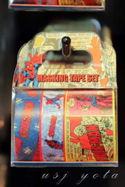 マスキングテープスパイダーマン