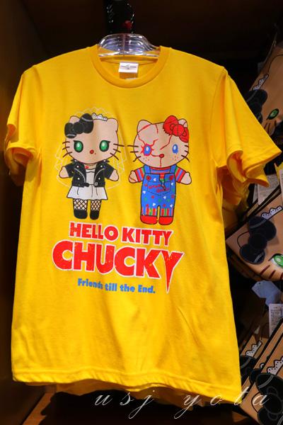 キティちゃんのTシャツ