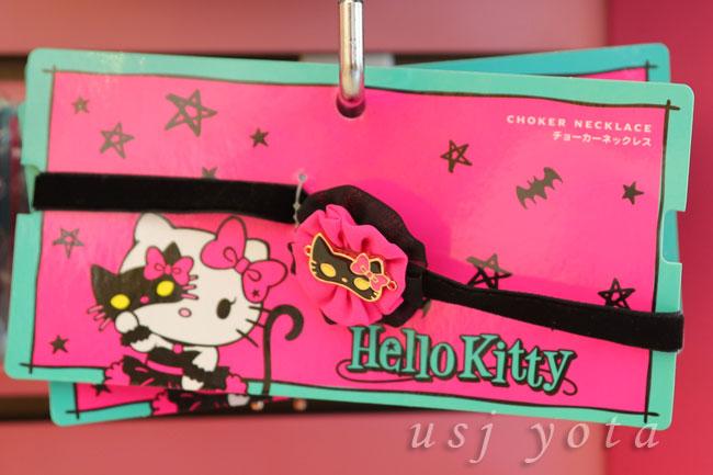 キティちゃんのチョーカーネックレス