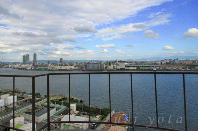 ホテルユニバーサルポート11階からの眺望