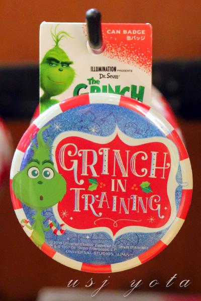 グリンチ缶バッチ
