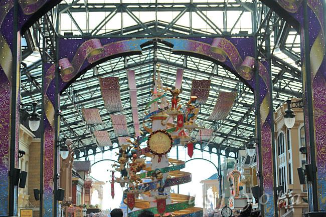 ディズニーランド35周年クリスマスイベント