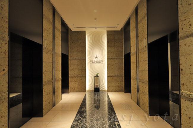 USJオフィシャルホテルシンギュラリホテルへエレベーターホール