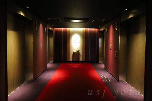 シンギュラリホテルエレベーター