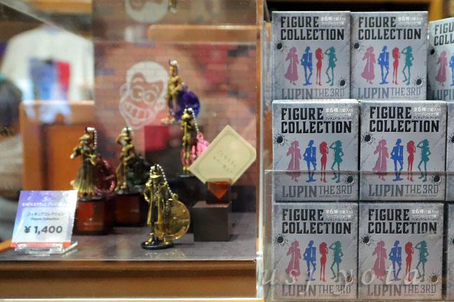 ルパン三世のフィギュアコレクション 1つ1400円