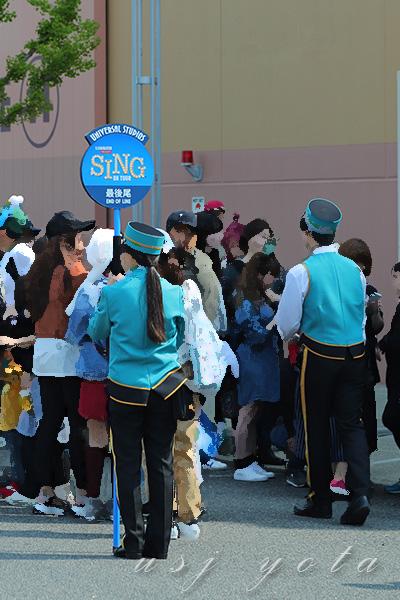 SING・シングオンザツアー待ち列