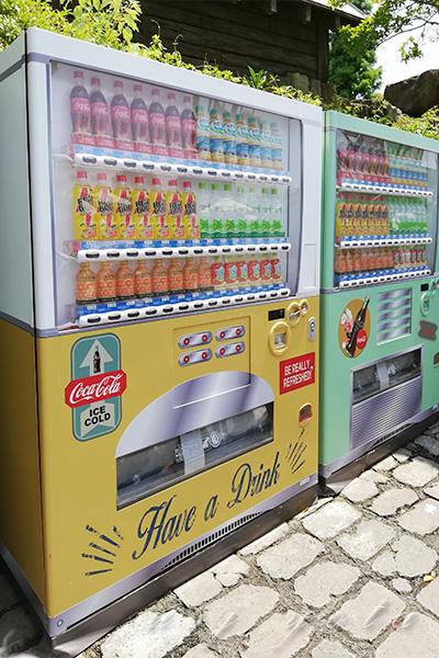 自動販売機のペットボトル