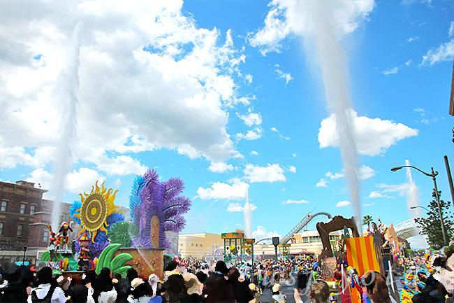 ウォーター・サプライズ・パレードのウォーターキャノン