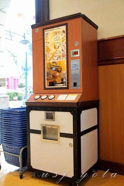 スーベニアメダリオンの機械