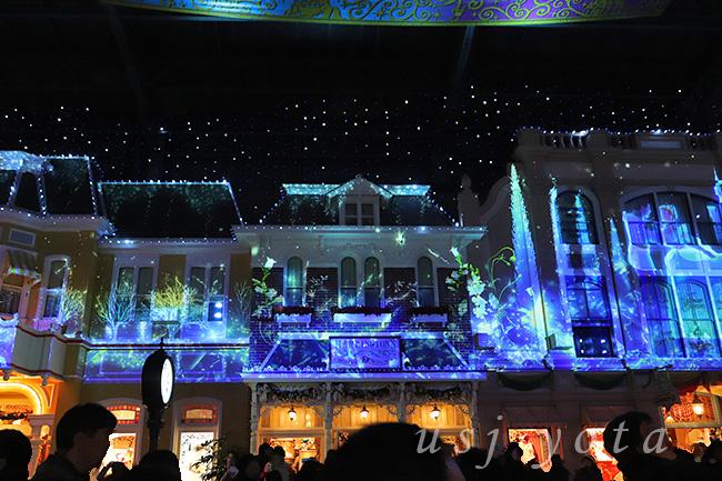 ディズニーランドのクリスマスをイベント