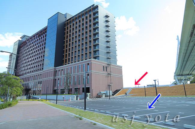 リーベルホテル アット ユニバーサルスタジオジャパンの駐車場