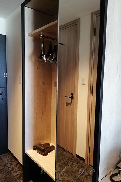 リーベルホテルのロッカー