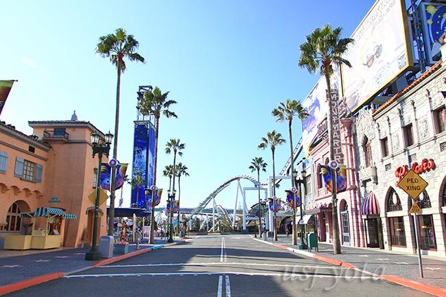 ハリウッド大通りUSJ