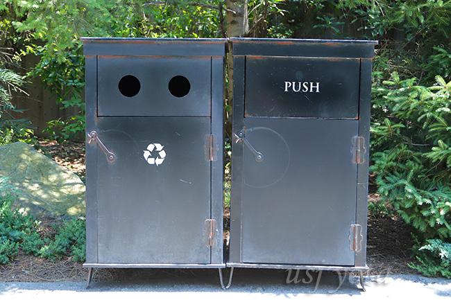 ハリーポッターエリアのゴミ箱