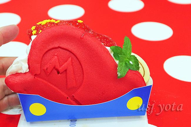 マリオのパンケーキサンド