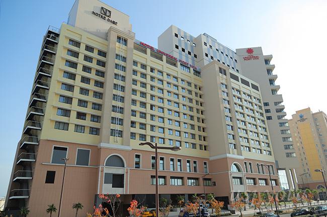 ホテルユニバーサルポートヴィータ外観