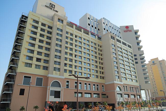 ホテルユニバーサルポート ヴィータ全景