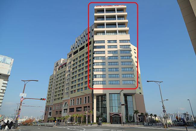 ホテルユニバーサルポートヴィータパークビュールーム