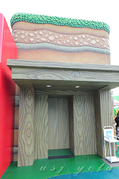 ニンテンドーワールドのエレベーター