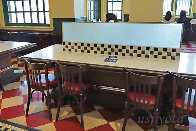 ルイズ N.Y.ピザ パーラーアクリル板