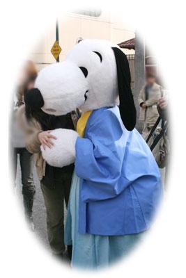 2007年スヌーピーも着物姿