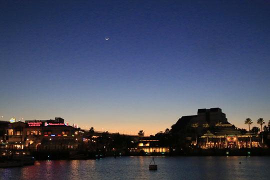 USJの夜景