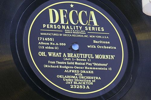 レコードの看板