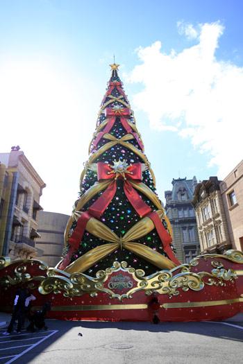 世界一のクリスマスツリー2014年バージョン