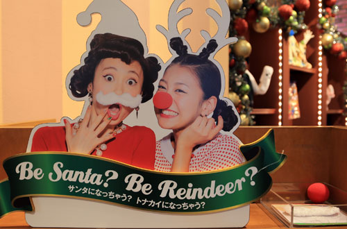 サンタとトナカイの仮装グッズ