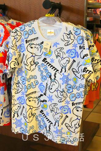 涼しげなTシャツ